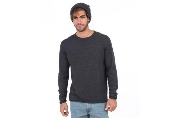 Ecologie Mens Arenal Lightweight Sweater (Charcoal) (L)