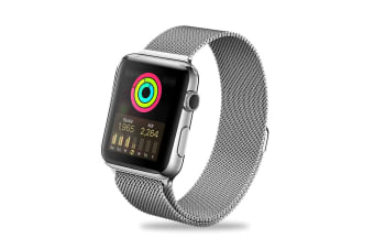 ZUSLAB iWatch Stainless Steel Wristband Band For Apple Watch 42mm 44mm Series 5 4 3 2 1 - Silver