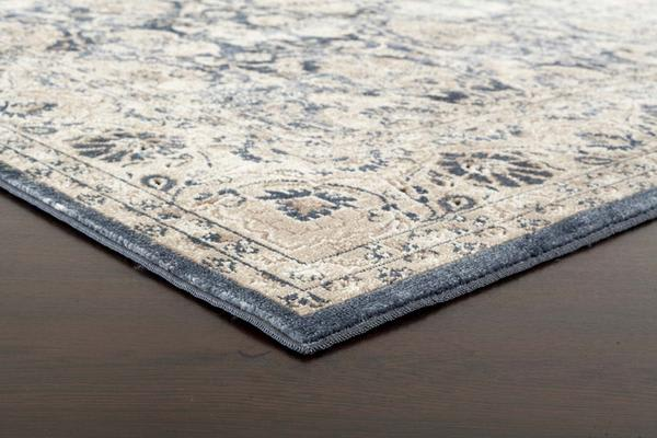 Esquire Balance Traditional Blue Rug 330X240cm