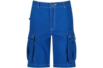 Regatta Childrens/Kids Shorefire Coolweave Cotton Canvas Shorts (SkyDiver Blue) (11-12 Years)