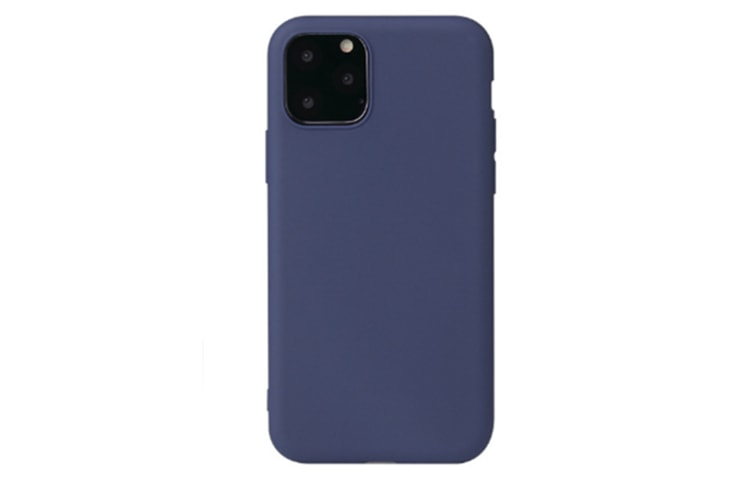 Select Mall Ultra Slim Protective Gel Shell Bumper Back Skin Mobile Phone Case Protective Cover TPU Cover for iPhone 11 Series-Blue Iphone11 Pro Max 6.5 inch