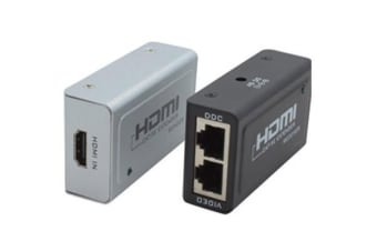 Cabac HDMI Extender Via RJ45, HDCP, Up to 1080p,