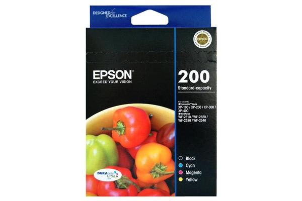 Epson STD CAP DURABRITE ULTRA 4 INK VALUE PACK