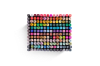 168-Piece Colour Marker Set (Black)