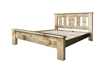 Drover Queen Bed Frame (Wood)