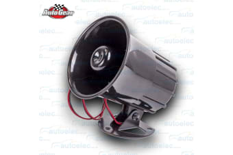 WOLF WHISTLE ELECTRIC HORN SIREN SPEAKER 12V VOLT CAR BIKE HOT ROD CUSTOM HO-20