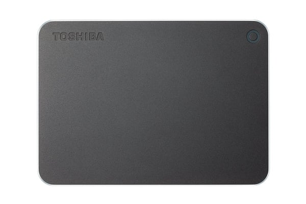 Toshiba Canvio Premium P2 USB 3.0 Portable External Hard Drive 3TB - Dark Grey (HDTW230AB3CA)