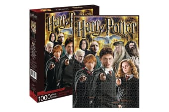 Aquarius Harry Potter Collage 1000pc Jigsaw Puzzle Children/Teen/Kids 14y+ Toys
