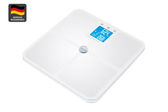 Beurer Bluetooth Glass Body Fat Bathroom Scale (BF950)