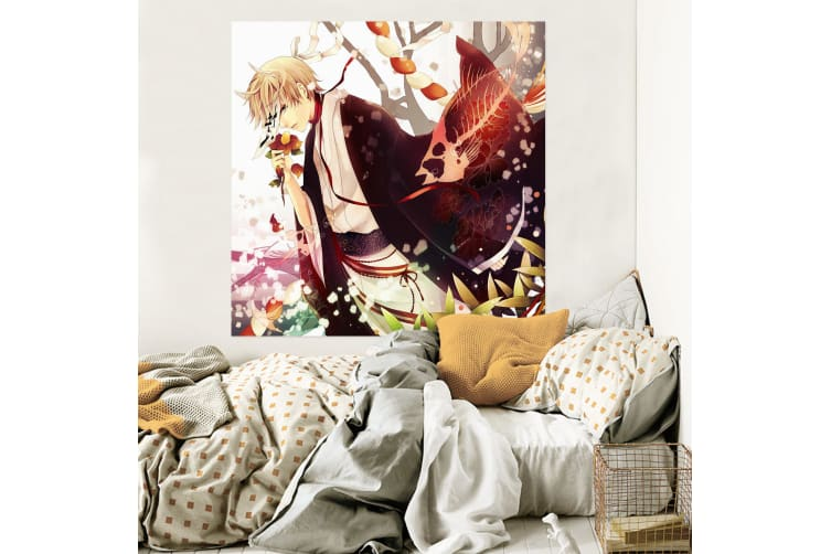 3D Natsume 2019 Anime Wall Stickers Self-adhesive Vinyl, 180cm x 100cm(70.8'' x 39.3'') (WxH)