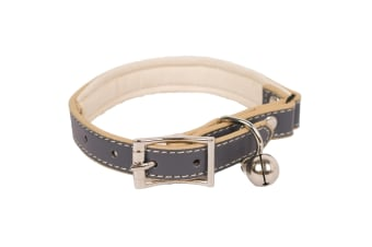 Banbury & Co Luxury Cat Collar (Grey) (One Size)
