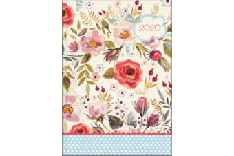 Vintage Blooms - 2020 Diary Planner A5 Padded Cover by The Gifted Stationery