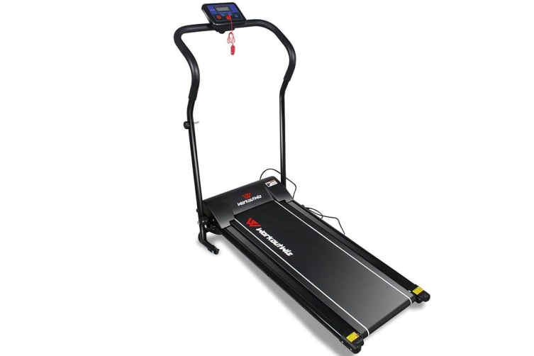 Workoutwiz 1-10km/h Electric Folding Treadmill Home Gym Exercise Fitness Equipment Machine