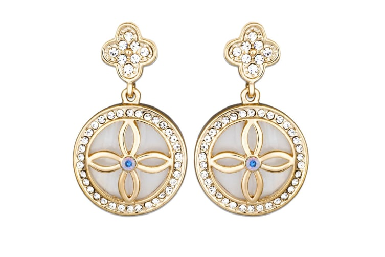 Decandence Earrings Embellished with Swarovski crystals