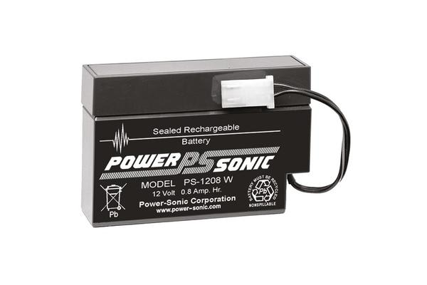 Power Sonic 12V 0.8Amp Sla Battery