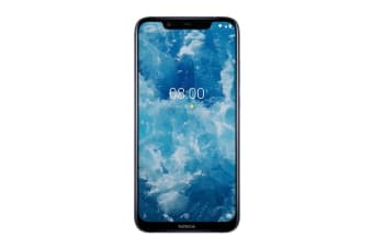 Nokia 8.1 (128GB, Blue Silver)