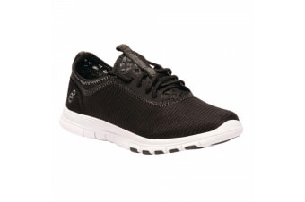 Regatta Womens/Ladies Lady Marine Sport Trainers (Black/Granite) (3 UK)