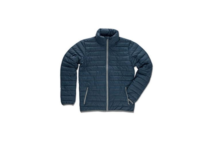 Stedman Mens Active Padded Jacket (Dark Blue) (XL)