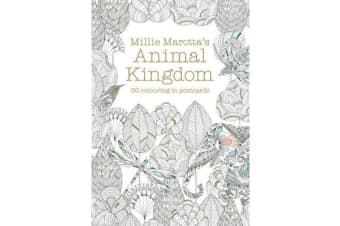 Millie Marotta's Animal Kingdom Postcard Book - 30 beautiful cards for colouring in