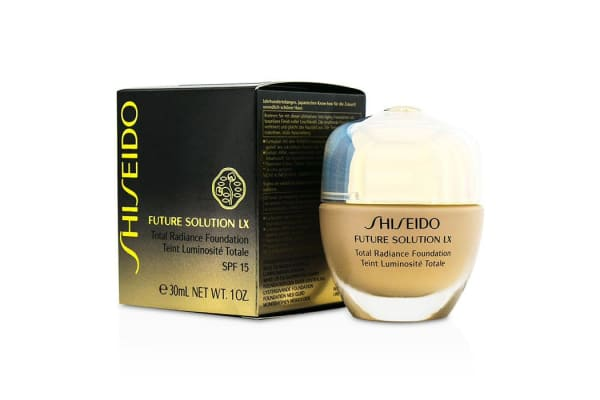 Shiseido Future Solution LX Total Radiance Foundation SPF15 - #O40 Natural Fair Ochre (30ml/1oz)