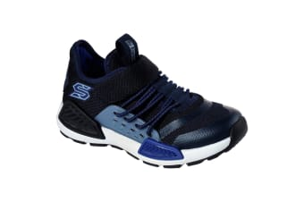 Skechers Childrens/Boys Kinectors Thermovolt Trainer (Navy/Blue) (10.5 Child UK)