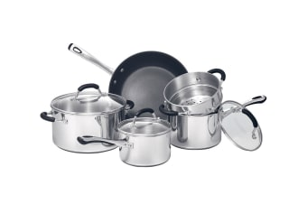 RACO Contemporary Stainless Steel 5 Piece Cookware Set