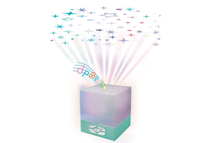Baby Star Glow Cube Ceiling Projector/Musical Lullaby/Sleep Night Lamp Lighting