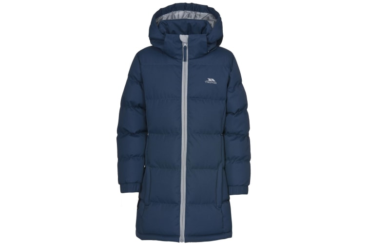 Trespass Childrens Girls Tiffy Padded Jacket (Navy Tone) (7/8 Years)
