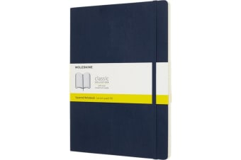 Moleskine Classic XL Soft Cover Notebook (Sapphire) (One Size)