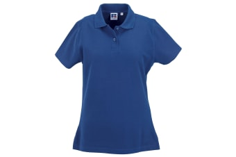 Russell Europe Womens/Ladies Ultimate Classic Cotton Short Sleeve Polo Shirt (Bright Royal) (S)