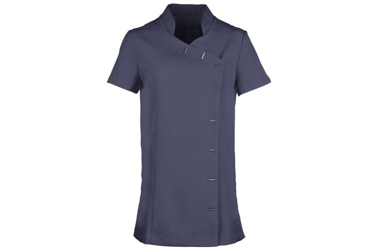 Premier Womens/Ladies *Orchid* Tunic / Health Beauty & Spa / Workwear (Navy) (16)