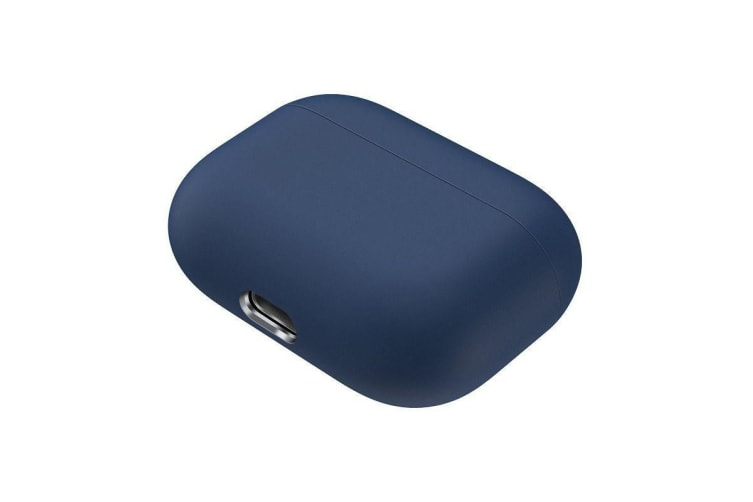 For AirPods Pro Case  Silicone Protective Earphone Cover  Dust-proof  Dirt-resistant  Dark Blue