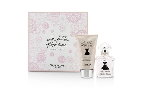Guerlain La Petite Robe Noire Coffret: Eau De Toilette Spray 30ml/1oz + Body Milk 75ml/2.5oz (2pcs)