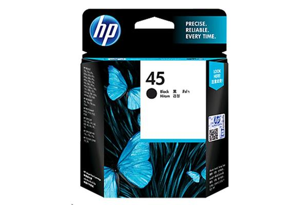 HP Ink Cartridge 45 Black 51645AA