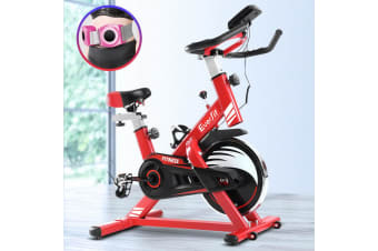 Everfit Exercise Spin Bike Cycling Fitness Commercial Home Workout Gym Equipment