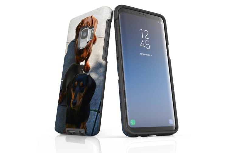 For Samsung Galaxy S9 Case Armour Cover  A Couple of Sausages