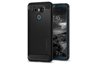 Spigen LG G6 Rugged Armor Case Black