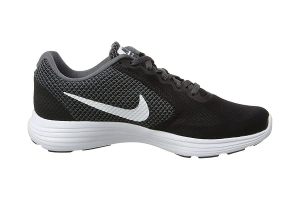 Nike Women's Revolution 3 Running Shoe (Black/Dark Grey/Anthracite, Size 10)