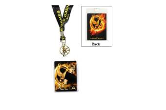 The Hunger Games Lanyard Peeta with Pin