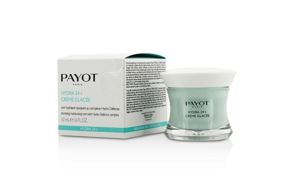 Payot Hydra 24+ Creme Glacee Plumpling Moisturizing Care - For Dehydrated, Normal to Dry Skin (50ml/1.6oz)