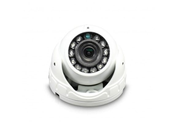 Swann Pro Grade 1080p Analog HD White Mini Dome Camera / 3.6mm Fixed Lens (SWPRO-1080FLD)