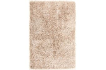 Metallic Noodle Shag Rug Cream