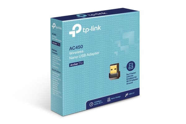 TP-Link Archer AC450 Wireless Nano USB Adapter (ArcherT1U)