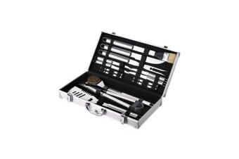 Maverick 18pc BBQ Tool Set in Aluminium Case