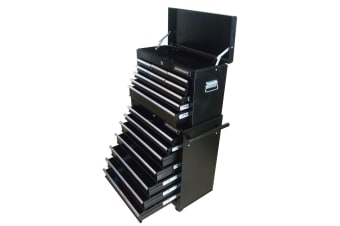 16-Drawer Mechanic Tool Box Rolling Tool Chest Cabinet