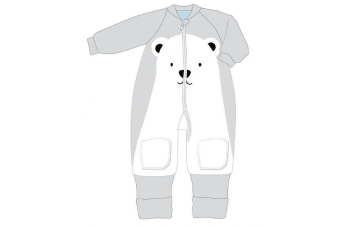 Baby Studio Winter Warmies Fleece With Arms 6-12M - 3.5 Tog 6-12M POLAR BEAR