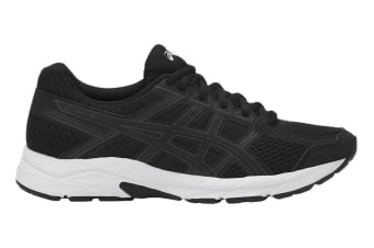 ASICS Women's Gel-Contend 4 Running Shoe (Black/White, Size 8)