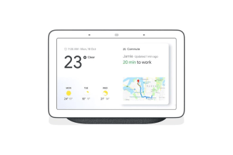 Google Home Nest Hub Smart Display & Home Assistant - Charcoal