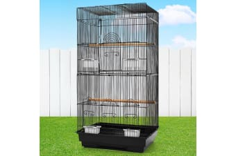 i.Pet Bird Cage Pet Cages Aviary 88CM Small Budgie Parrot Finch Budgie Canary