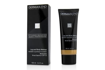 Dermablend Leg and Body Make Up Buildable Liquid Body Foundation Sunscreen Broad Spectrum SPF 25 - #Light Beige 35C 100ml